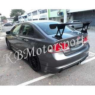 Honda Civic JSracing Spoiler GTwing