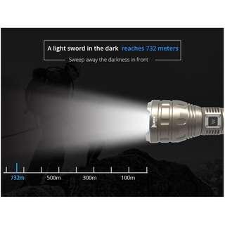 T150 Pro (732 meters) 1500 Lumens Flashlight