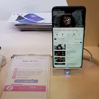 Cicilan Tanpa CC Bunga 0% Hp Huawei Mate 20 Pro Free Wairless Charger