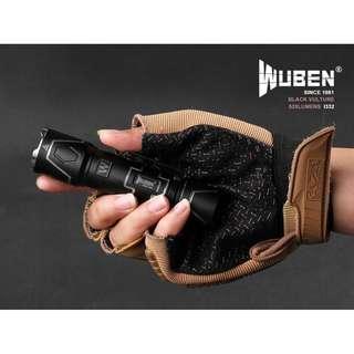 {獨特外型設計,潮人專享} i332 WUBEN Black Vulture (520 Lumens) Flashlight Torch