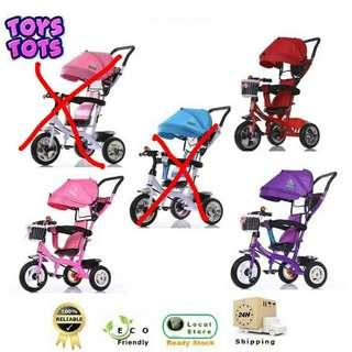 NEW DESIGN Zeppy Kids Tricycle Bicycle for Children Kid Tricycle Bicycle