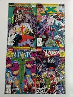 🚚 X-Men Days of Future Present (1990 Marvel) Comics Set