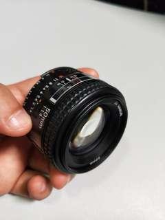 Nikon 50mm F1.4D Made in Japan