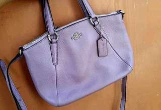 Coach Kelsey Mini Iris Mint Condition