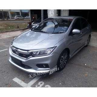 Honda City Drive68 Bodykits With Spray Color