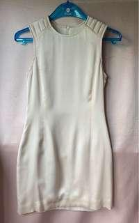 White one piece size xs