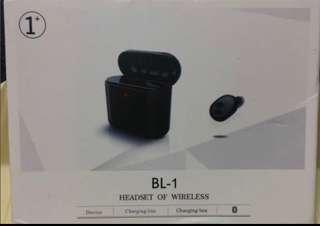 🚚 BL-1單耳無線藍芽耳機(全新品,非展示照片商品)
