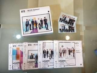 BTS JAPANESE ALBUM CLEARNACE SALE