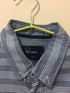 FRED PERRY BLUE STRIPES