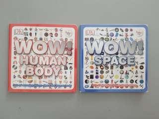 DK series. Space , Human Body