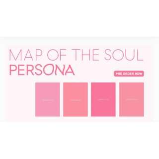 BTS MAP OF THE SOUL : PERSONA [Please go to new listing: https://sg.carousell.com/p/220536433]