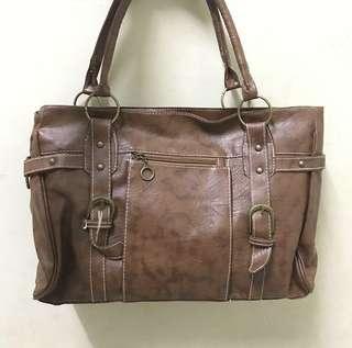 Handbag Coklat Tas Jinjing Wanita Cokelat Murah