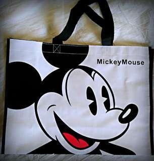 🚚 迪士尼環保購物袋 防水手提袋 外出揹袋