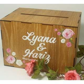 Classic Angbao Wedding Box with Custom Print