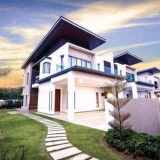 Hilltop New Luxury 45x85 Semi-D For Sale! Rebate 15%(RM 1,100,000-4000sqft)