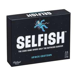 Pre Order Selfish Space Edition Game.