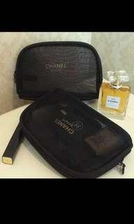 🚚 Chanel mashed makeup pouch