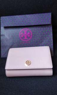 Brand new Tory Burch wallet with floral theme
