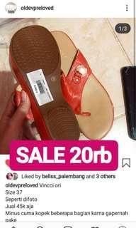 Sandal sepatu vincci