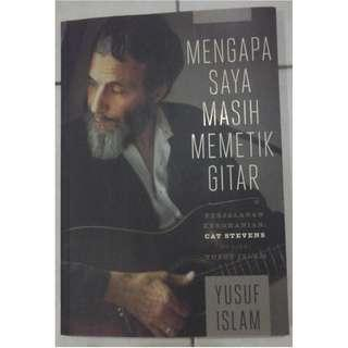 Buku Yusuf Islam @ Cat Stevens + Signature Value!!!