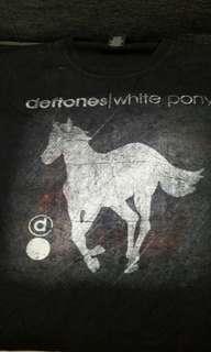 🚚 Rock tshirt Deftones tshirt