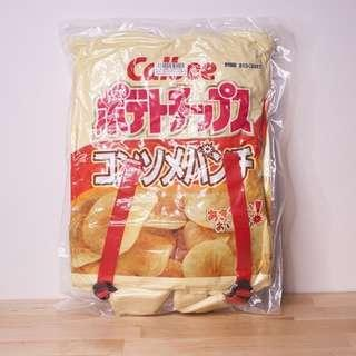 【全新日貨出清】日本Calbee洋芋片包 / 雞汁口味