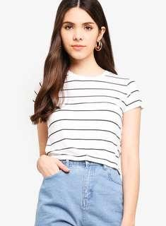 [BNWT] Cotton on striped tee #STB50