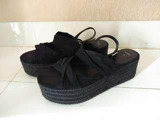 Bershka platform sandal