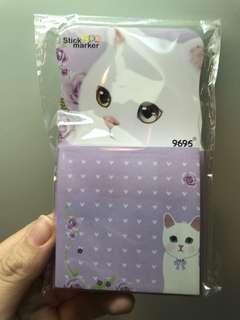 包郵*貓貓Memo紙