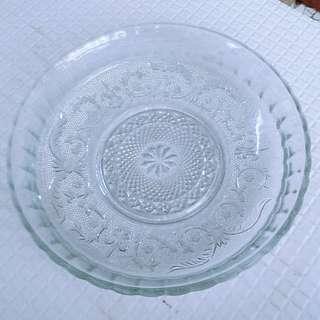 🚚 玻璃盤 水果盤