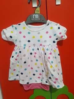 Dress baby Mothercare up to 1 month