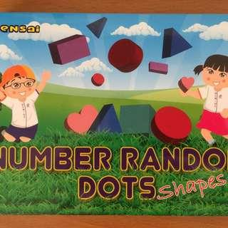 Number Random Dots (Used by Shichida)