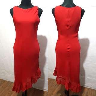 Preloved Branded Red Dress/Gown [Almost brandnew]