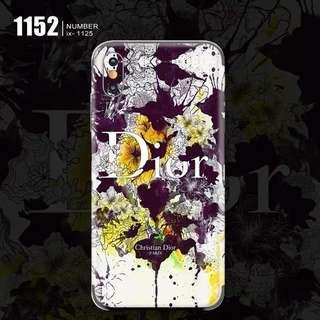 🚚 Dior Flowers Phone Skin