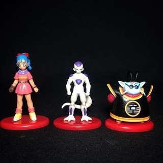 Dragon Ball Z mini figures