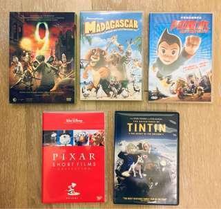 動畫 DVD (每套$30)