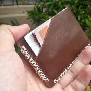 Dompet Pria Kulit Asli Minimalist Wallet New Model KASUARI II from BHINNEKA