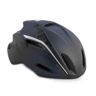 MET Manta Road Helmet - Matte Shaded Deep Blue