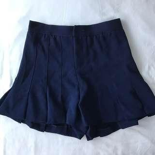🚚 BNWT The Stage Walk TSW Navy Blue Pleated Shorts