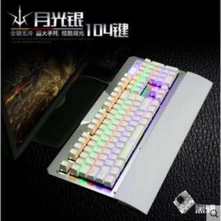 如意鳥K26 87鍵青軸機械鍵盤