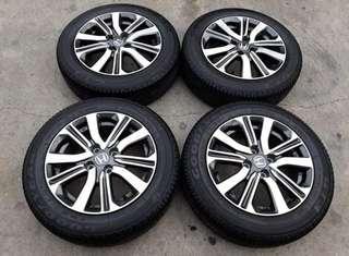 Honda City OEM Rim With Tyre's
