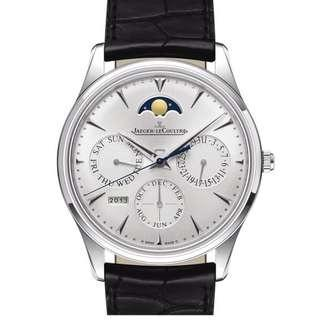 🚚 Jaeger le Coultre master ultra thin perpetual calendar steel boutique