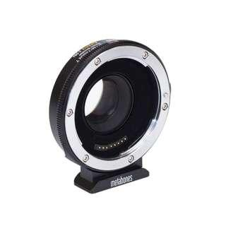 🚚 Canon EF Lens to Micro Four Thirds T Speed Booster SUPER16 0.58x (for Blackmagic Design Super-16mm sensor sized camera)