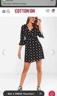 Cotton On polka dots dress