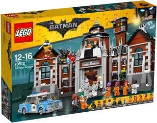 Sealed LEGO Batman Movie 70912 - Arkham Asylum   Mattonito