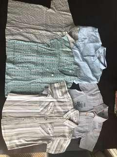 Collared high-quality shirts (100% cotton / linen)