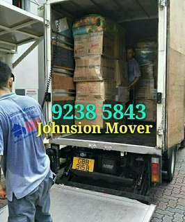 Transport FREE quotation| Boxes , HOUSE moving call 92385843 JohnsionMover