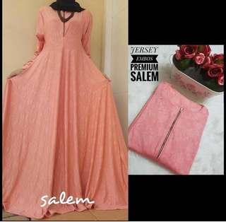 🚚 10 colors Jubah long dress (DRESS ONLY)