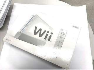 Nintendo Wii Video Game Console with Games and Boxed