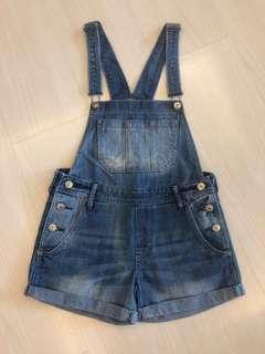 H&M 牛仔工人褲